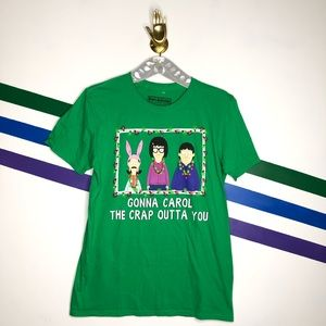 NEW Ripple junction bobs burgers Christmas tee